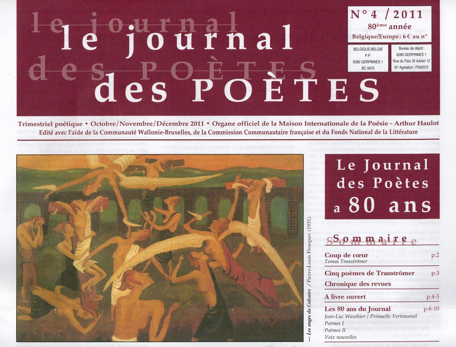 Le journal d'un poète