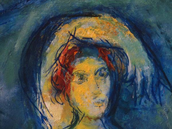 Marc Chagall, Le Paradis (détail), Musée Marc Chagall, Nice - photo mbp