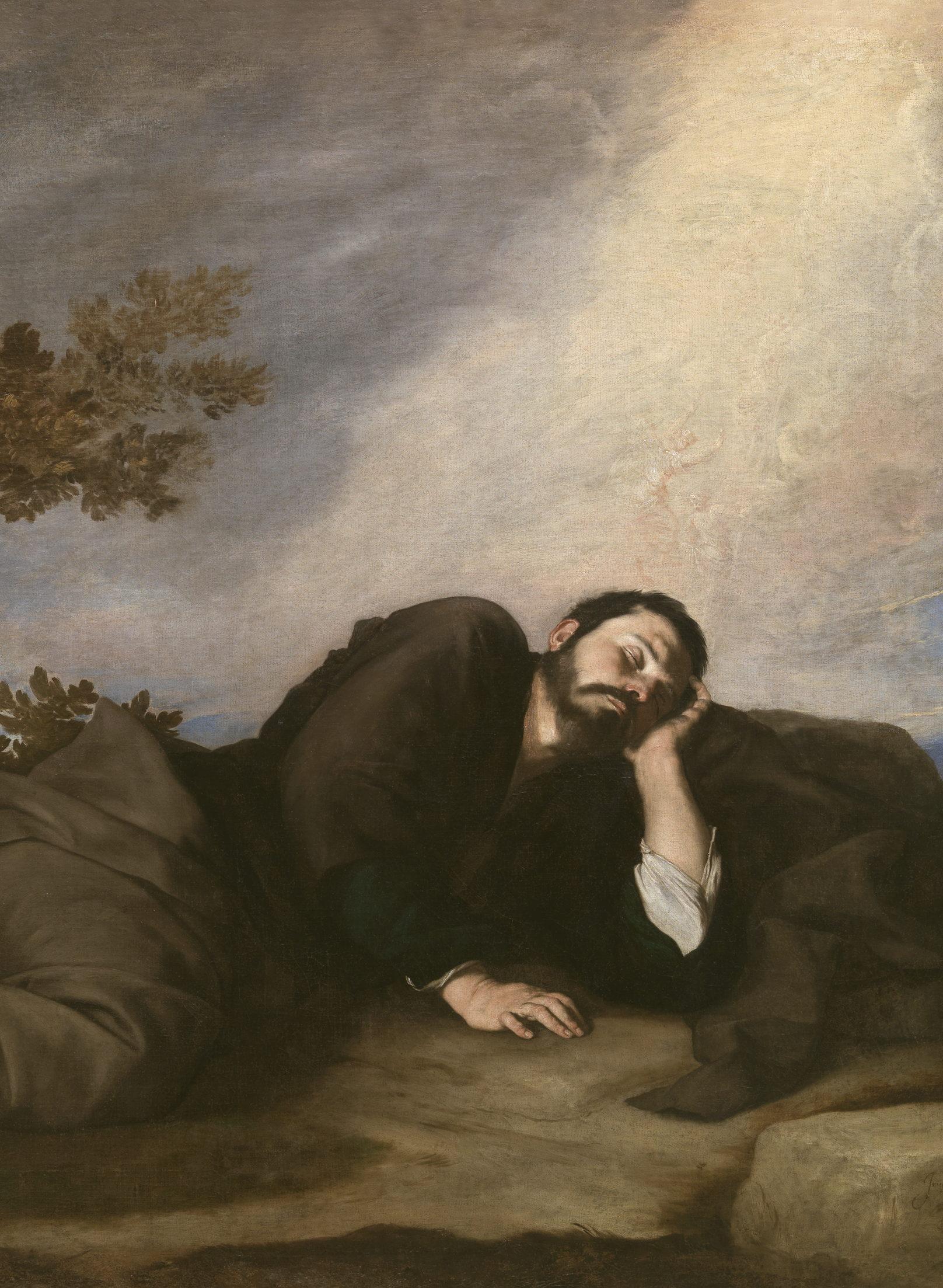 Le songe de Jacob, José de Ribera, Huile sur toile, 179 × 233 cm, 1639, Musée du Prado