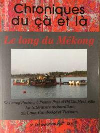 Chroniques du çà et là, N°12, automne 2017, PhB éditions, 145 pages, 12€.