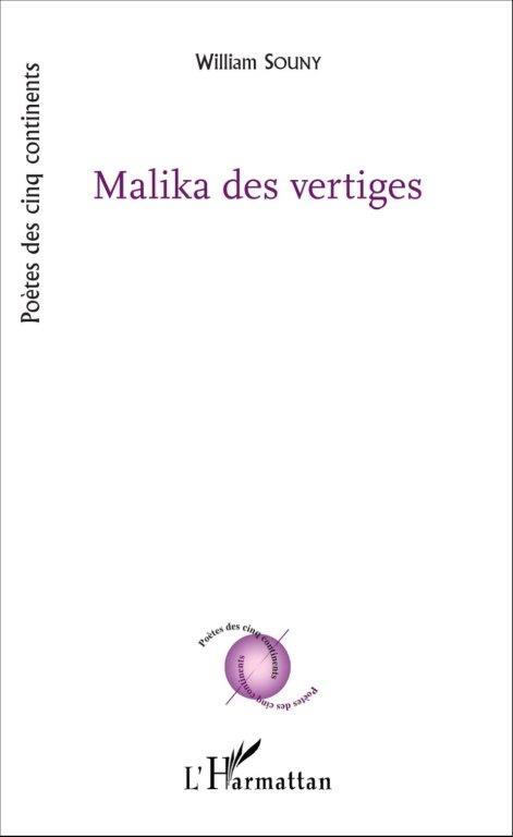 Mayotte suicide, L'Harmattan ,70 pages, 10.50€ Malika des vertiges, L'Harmattan, 48 pages, 9€