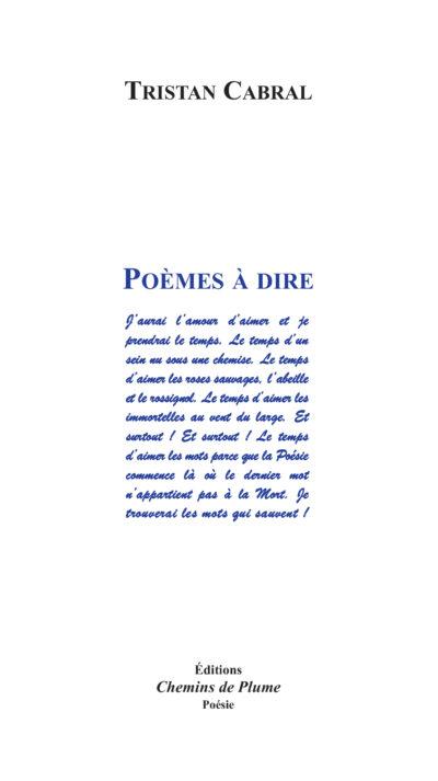 Tristan Cabral Hommage à Un Poète Libertaire Recours Au